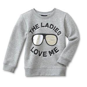 Other - Toddler Boy Graphic Sweatshirt -